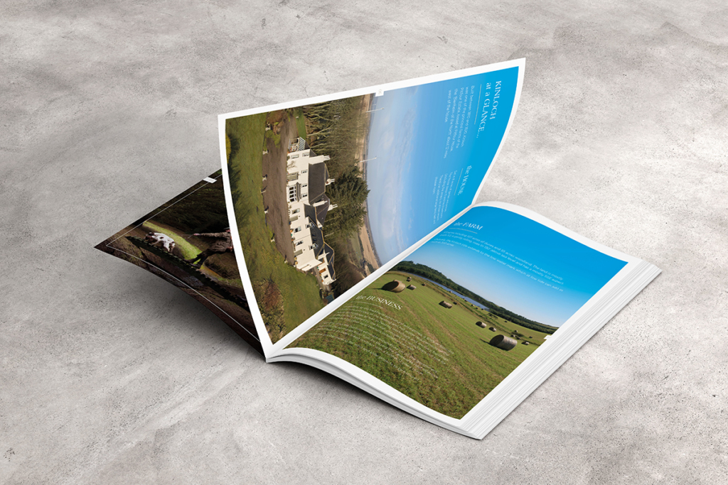 Kinloch Estate, Scotland, Property Brochure Design